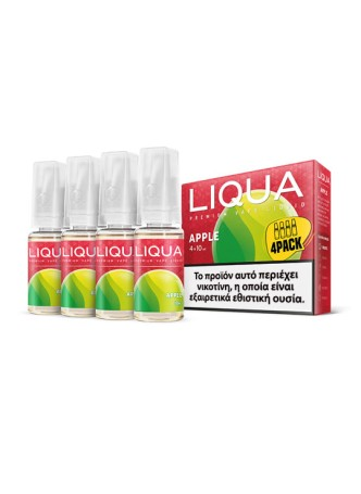 LIQUA APPLE 4X10ML