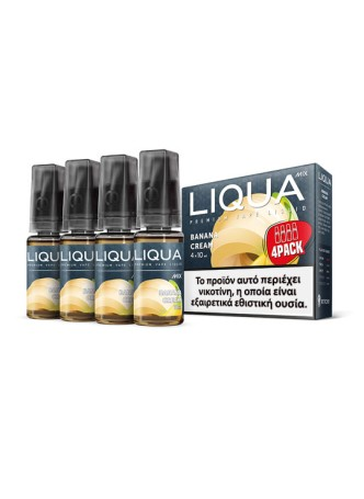 LIQUA BANANA CREAM 4X10ML