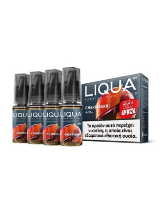 LIQUA CHERRIBAKKI 4X10ML