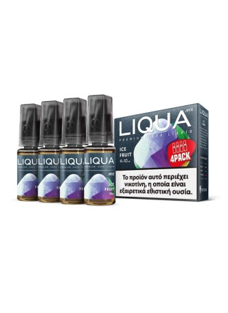LIQUA ICE FRUIT 4X10ML