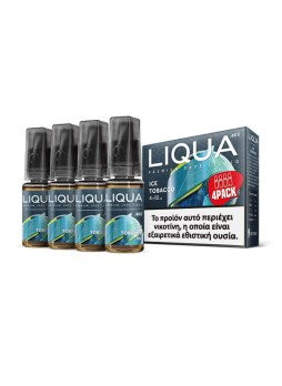 LIQUA ICE TOBACCO 4X10ML