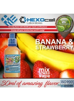Natura Mix Shake Vape BANANA STRAWBERRY 60ml