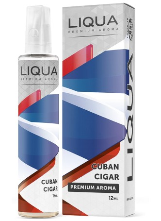 LIQUA FLAVOR SHOTS 12ML/60ML CUBAN CIGAR