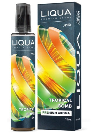 LIQUA FLAVOR SHOTS 12ML/60ML TROPICAL BOMB