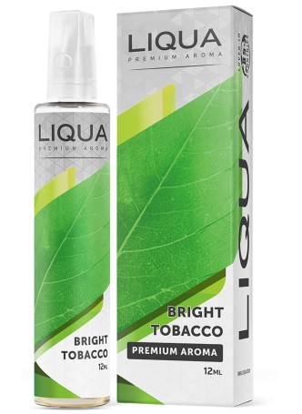 LIQUA FLAVOR SHOTS 12ML/60ML BRIGHT TOBACCO