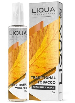 LIQUA FLAVOR SHOTS 12ML/60ML TRADITIONAL TOBACCO