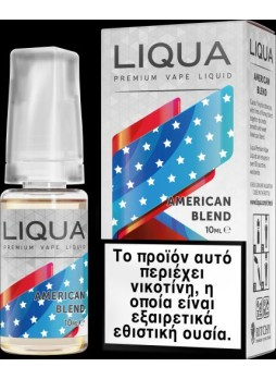 Liqua New 10ml TPD AMERICAN BLEND