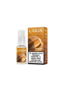 Liqua New 10ml TPD COOKIES