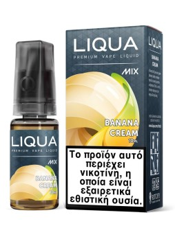 Liqua Mix 10ml TPD  BANANA CREAM