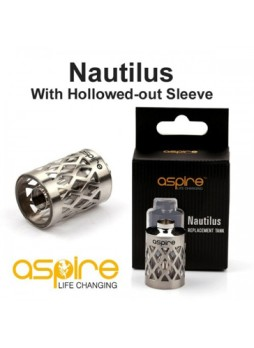 Aspire Nautilus hollowed tank